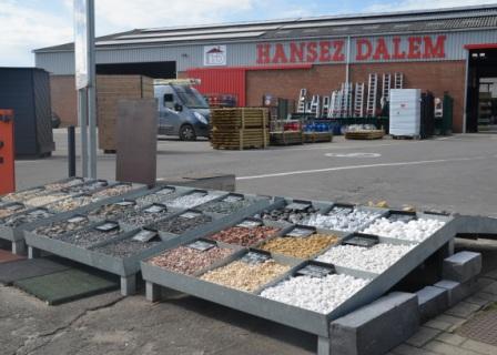 Graviers de décoration - Hansez-Dalem
